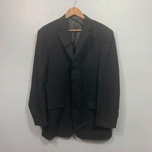 Missoni Black Wool Men's Sport Coat Blazer Jacket